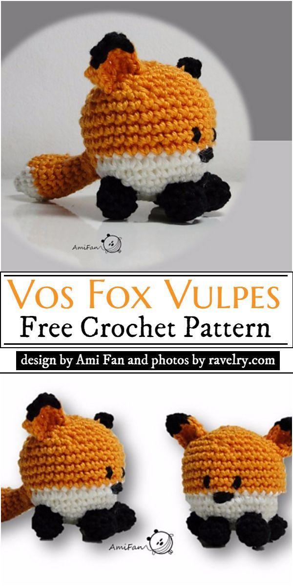 Vos Fox Vulpes Crochet Pattern