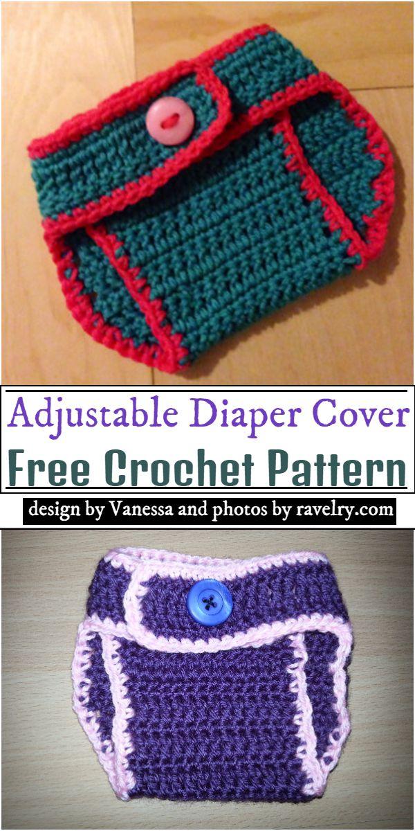 Adjustable Diaper Cover Crochet Pattern