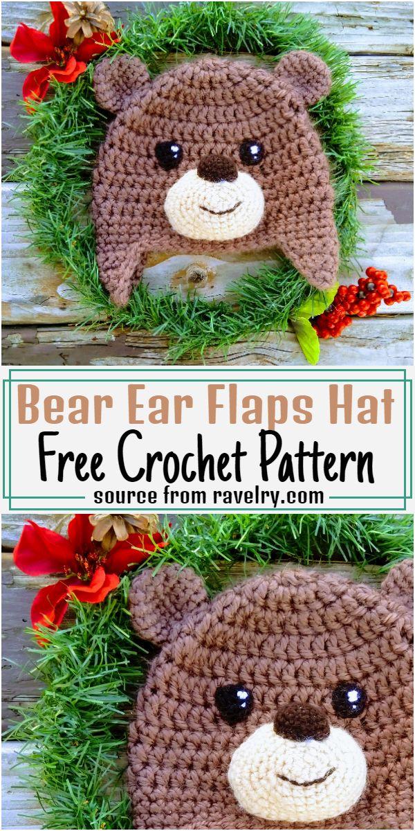 Bear Ear Flaps Hat