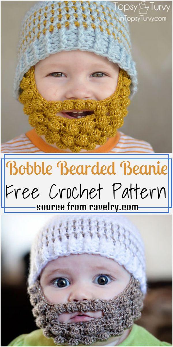 Bearded Beanie Pattern