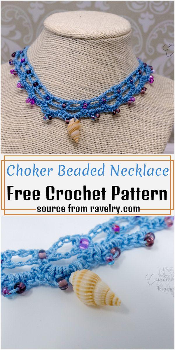 Choker Beaded Necklace