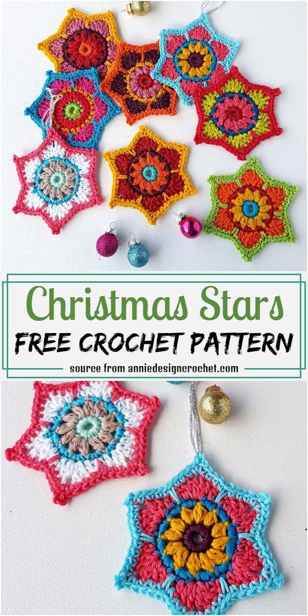 Christmas Stars Crochet Pattern
