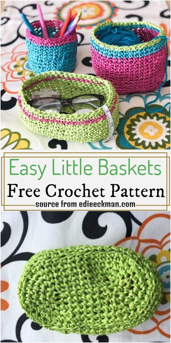 Easy Little Baskets Pattern