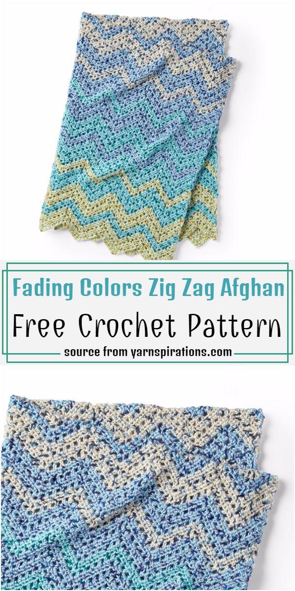 Fading Colors Zig Zag Pattern
