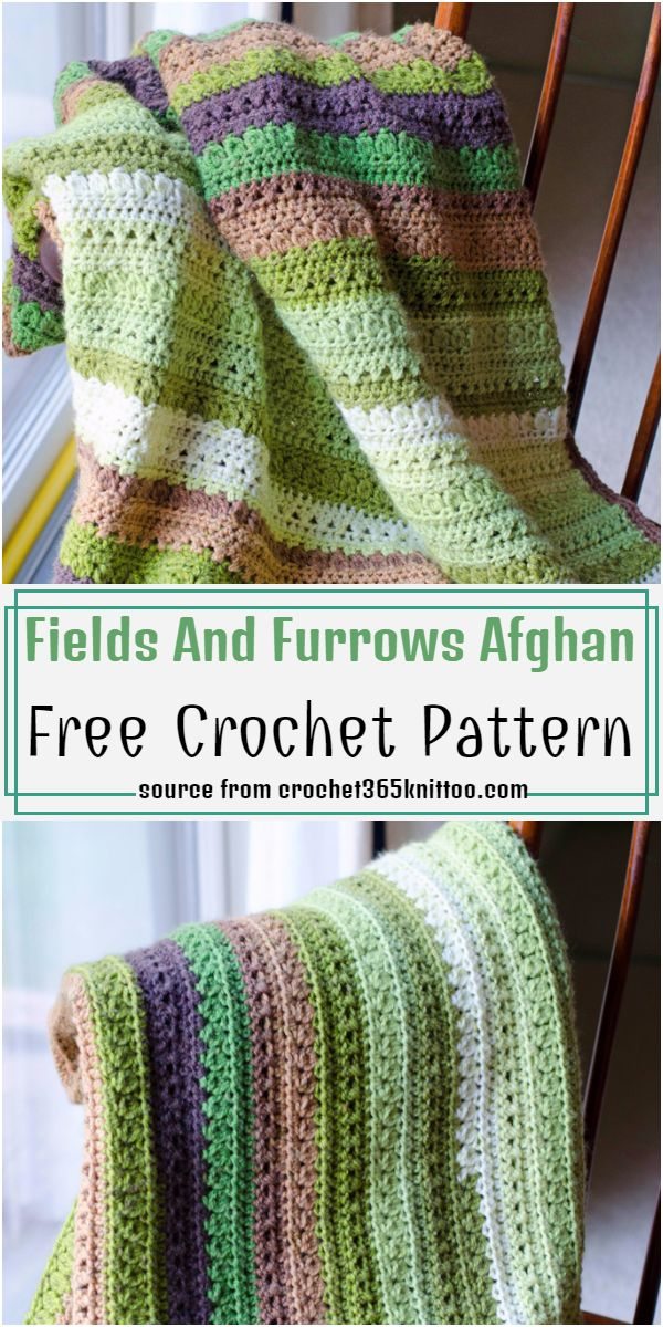 Fields And Furrows Pattern