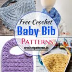 15 Free Crochet Baby Bib Patterns
