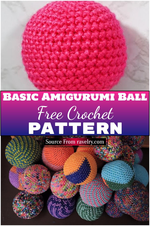 Free Crochet Basic Amigurumi Ball Pattern