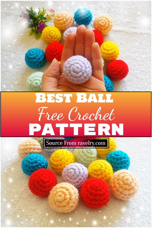 Free Crochet Best Ball Pattern