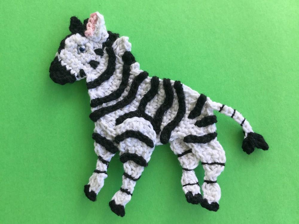 Free Crochet Best Zebra