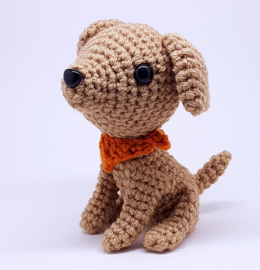 Free Crochet Brie The Dog