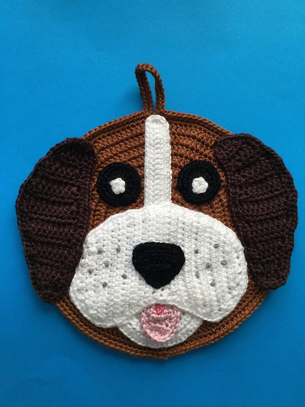 Free Crochet Dog Potholder