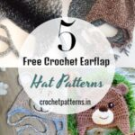 Quickest and Fastest Crochet Hat -Free Crochet Earflap Hat Patterns For Baby Wear