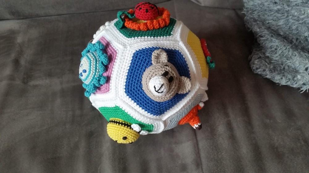 Free Crochet Educational Baby Ball Pattern