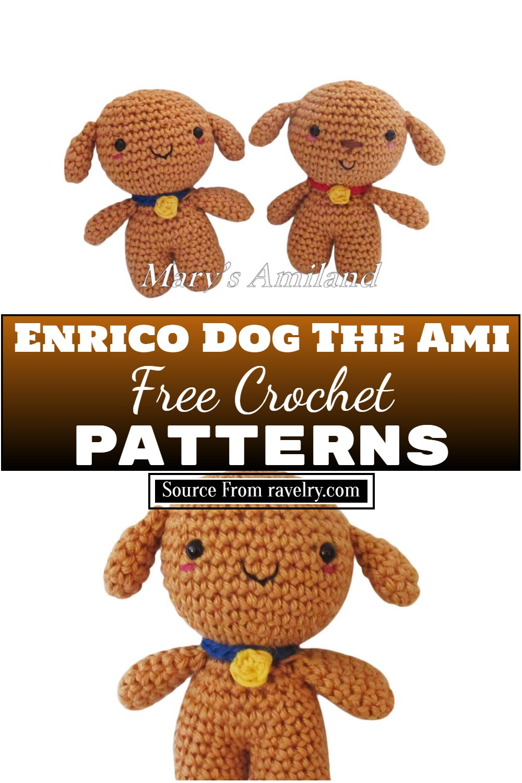 Free Crochet Enrico Dog The Ami