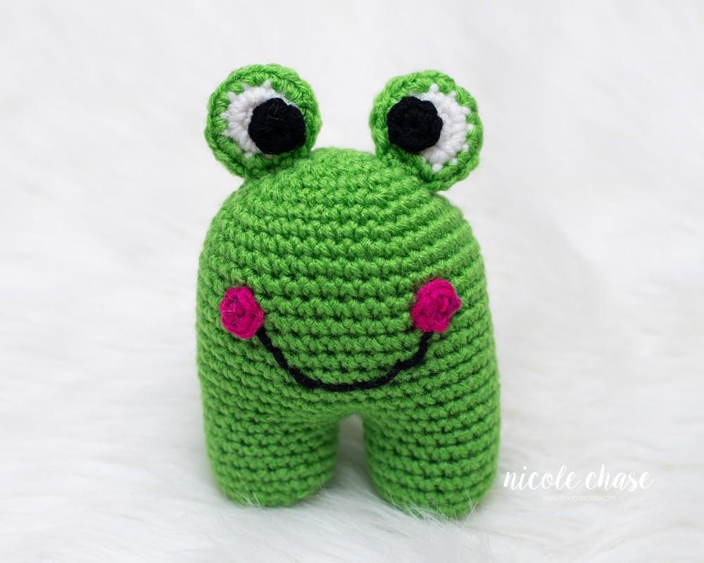 Free Crochet Frankie The Frog