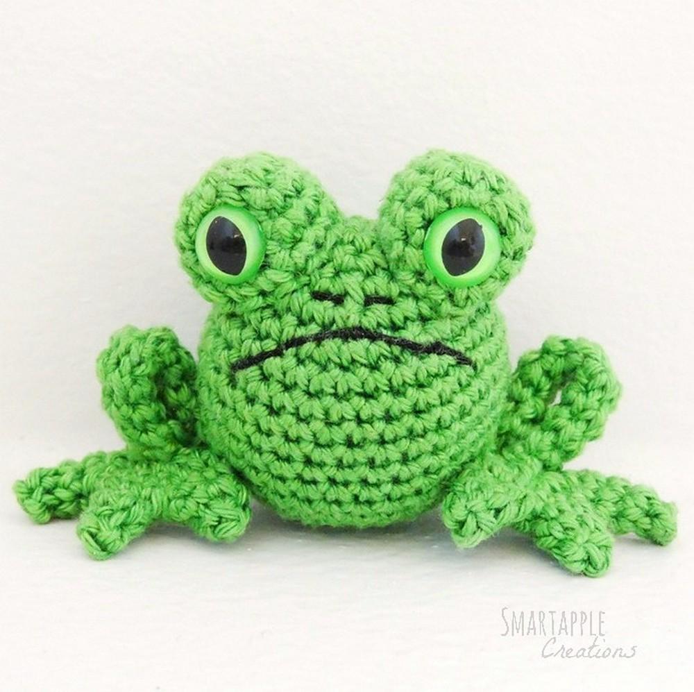 Free Crochet Fred The Amigurumi Frog