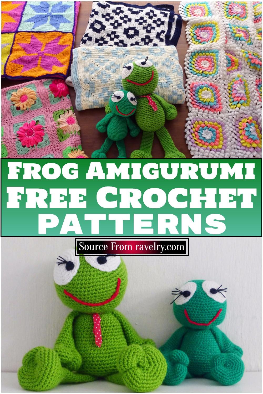 Free Crochet Frog Amigurumi