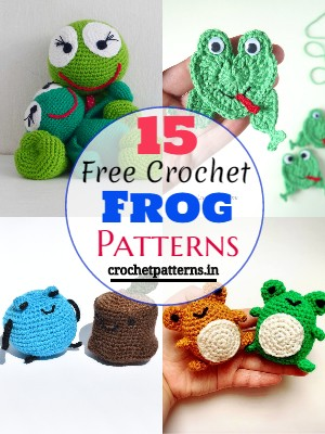 Free Crochet Frog Patterns