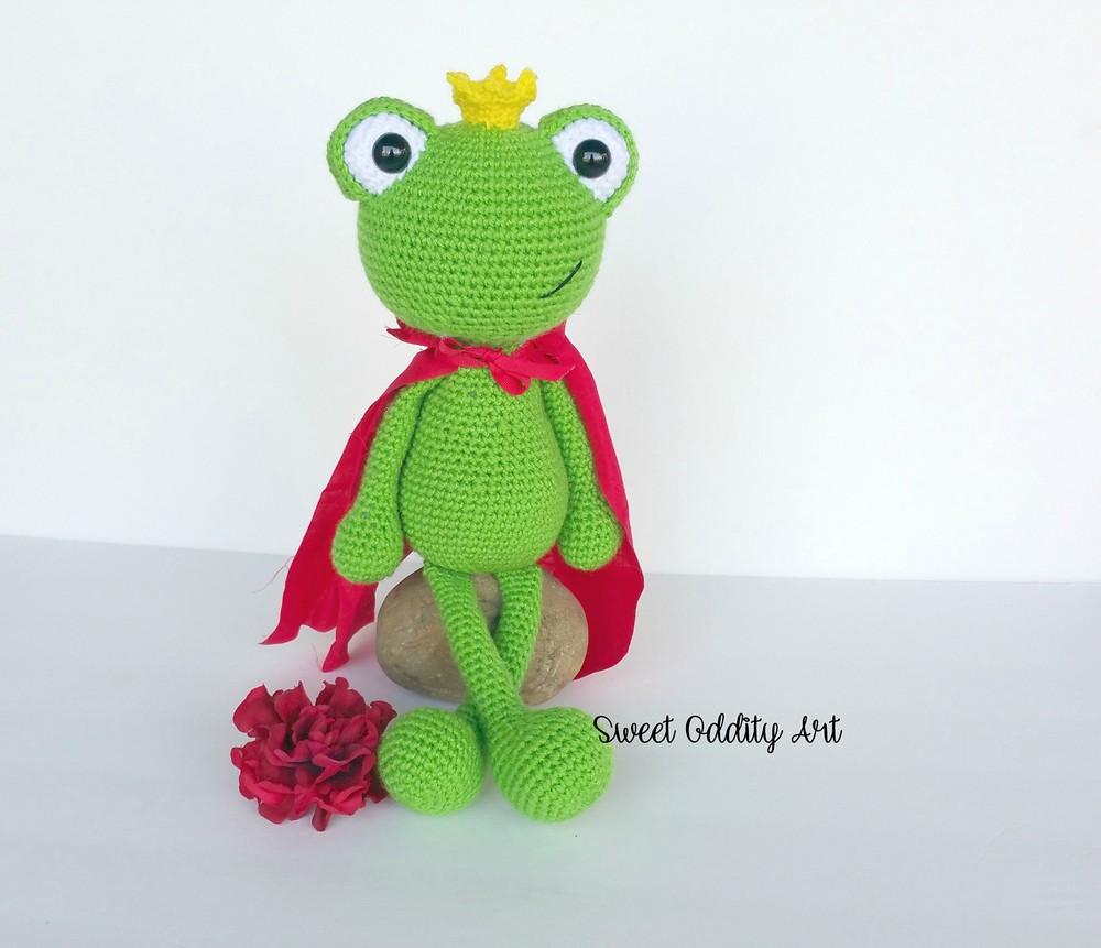 Free Crochet Frog Prince