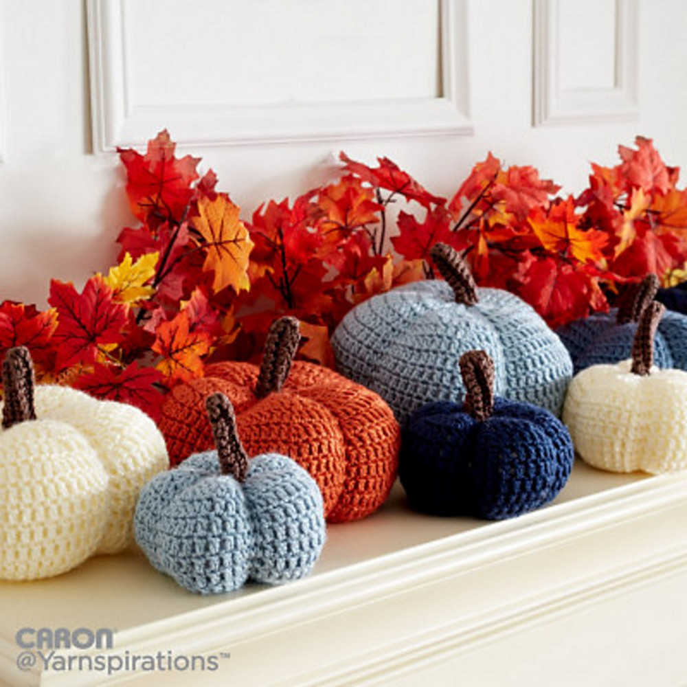 Free Crochet Harvest Crochet Pumpkins