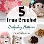 Free Crochet Hedgehog Patterns