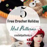 5 Free Crochet Holiday Hat Patterns