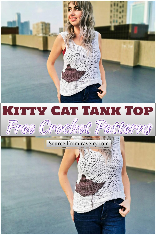 Free Crochet Kitty Cat Tank Top Pattern