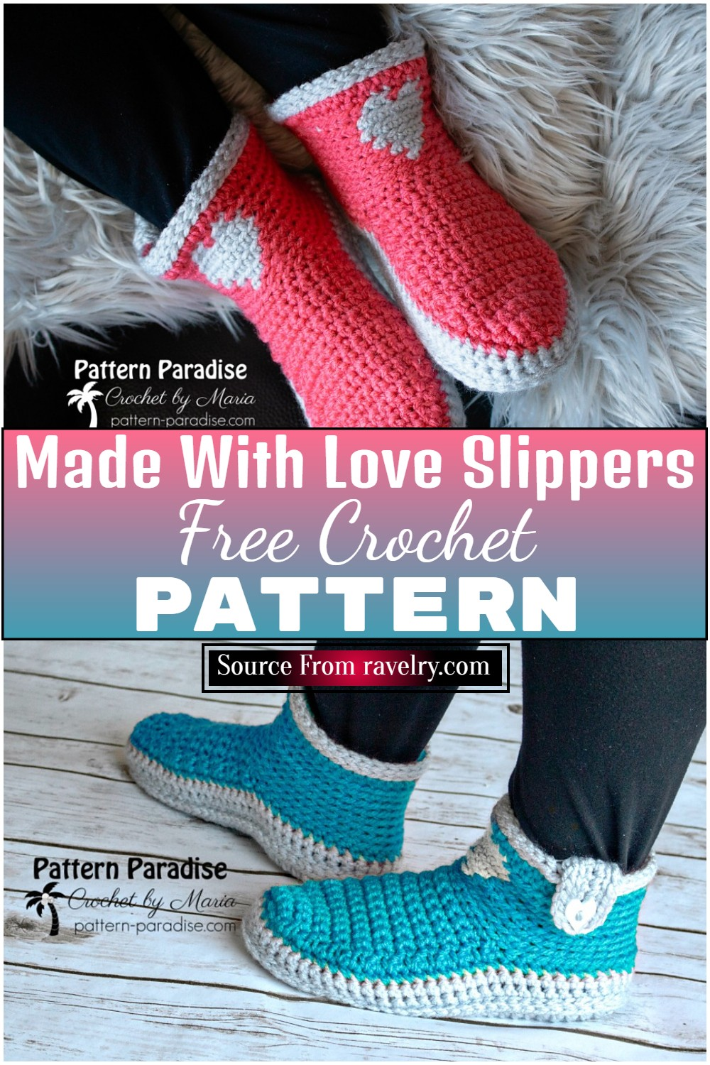 Made With Love Slippers