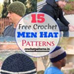 15 Easy and Fast Free Crochet Men Hat Patterns - Quickest and Fastest Crochet Hat