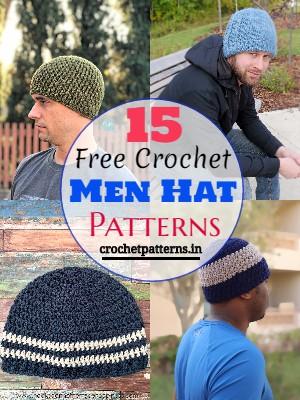 Free Crochet Men Hat Patterns