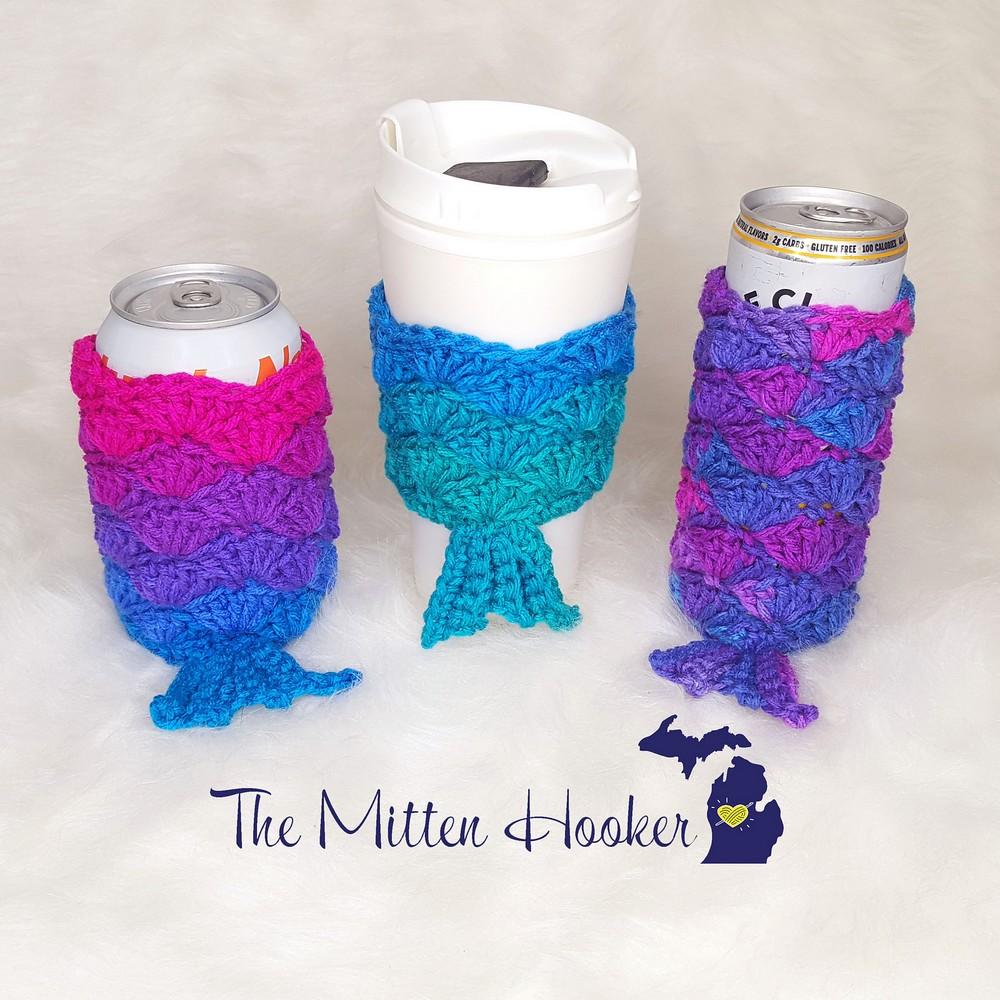 Free Crochet Mermaid Tail Cozy Bundle Pattern