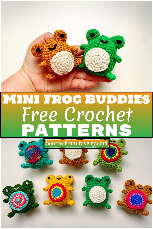 Free Crochet Mini Frog Buddies