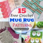 15 Free Crochet Mug Rug Patterns