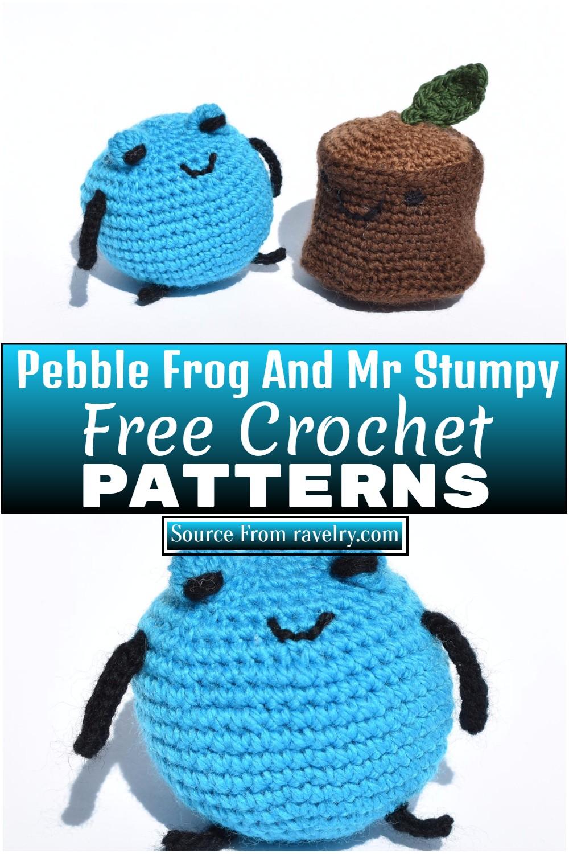 Free Crochet Pebble Frog And Mr Stumpy