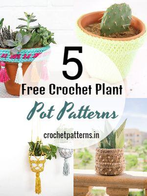Free Crochet Plant Pot Patterns