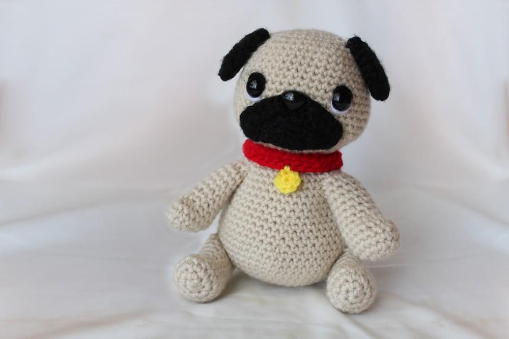 Free Crochet Pug Dog