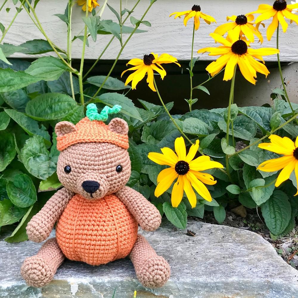 Free Crochet Pumpkin Patch Bear