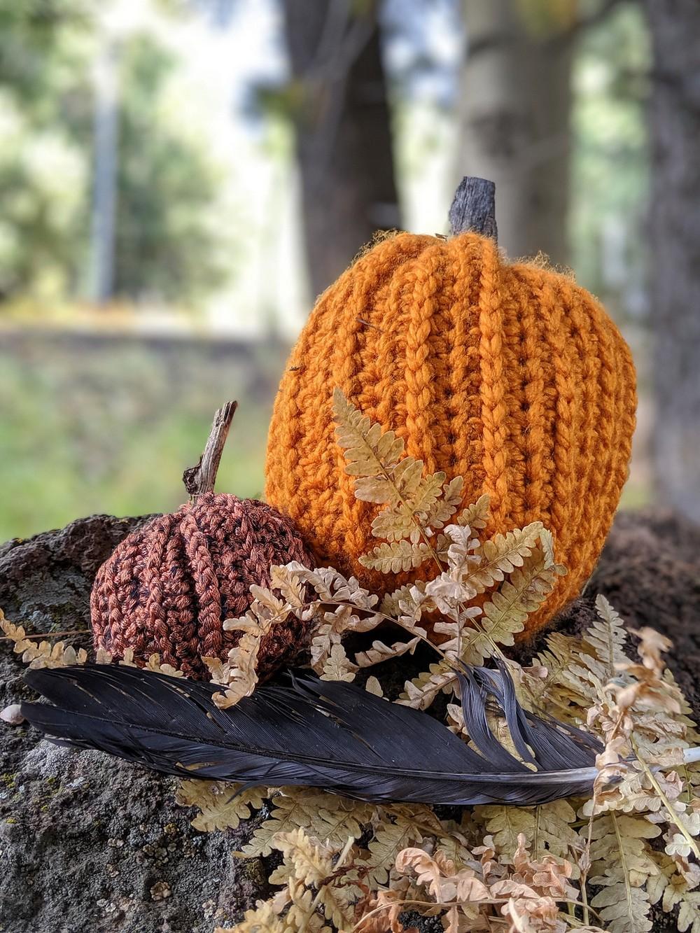 Free Crochet Pumpkin Stuffy