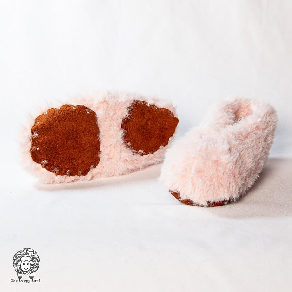 Rustic Fur Easy Slippers