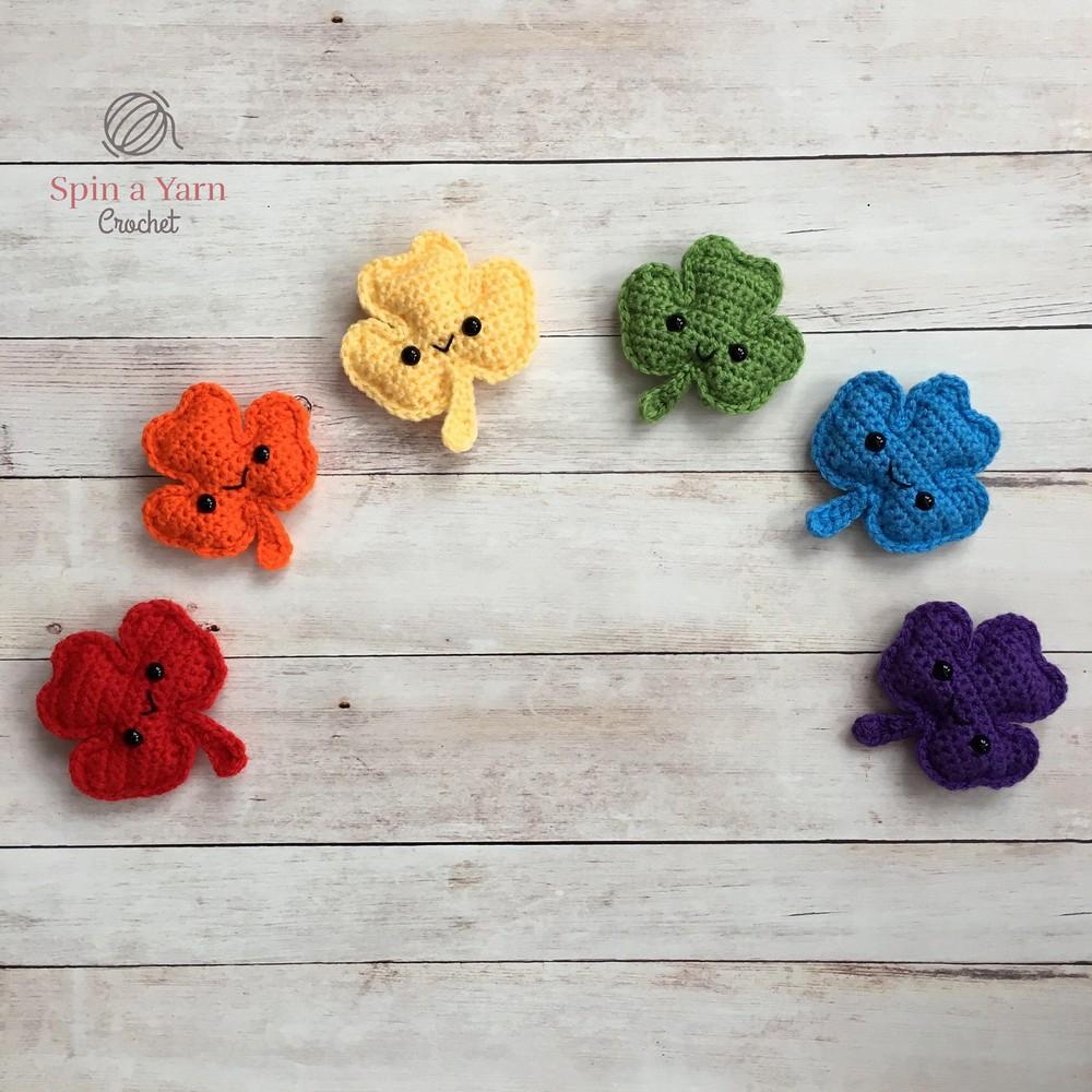 Free Crochet Shamrock Amigurumi pattern