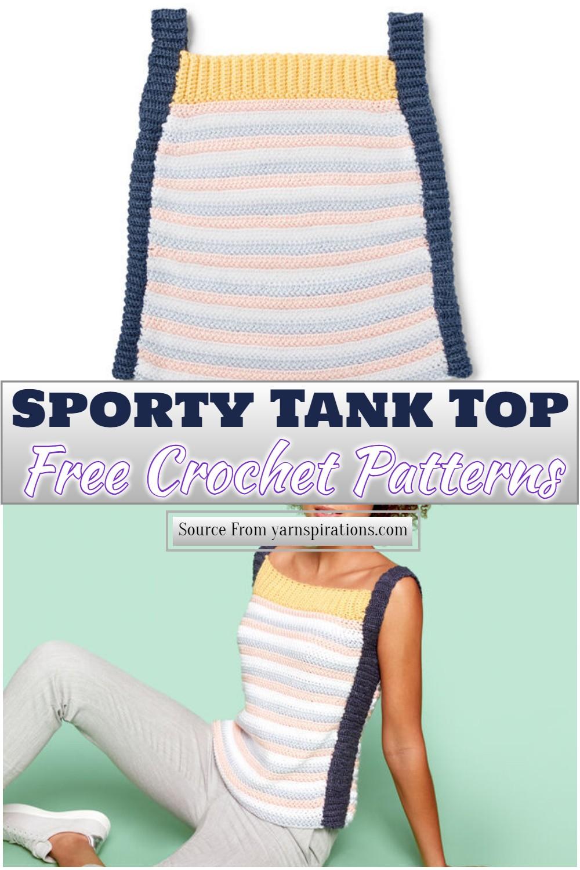 Free Crochet Sporty Tank Top Pattern