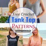 15 Free Crochet Tank Top Patterns