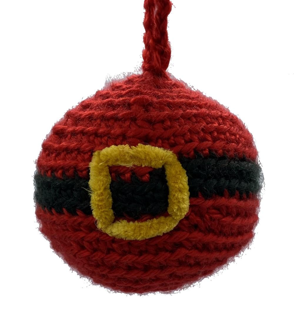 Free Crochet The Santa Ball Pattern