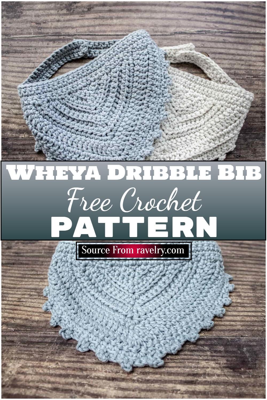 Free Crochet Wheya Dribble Bib Pattern