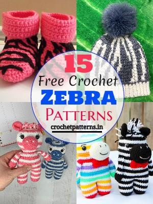 Free Crochet Zebra Patterns