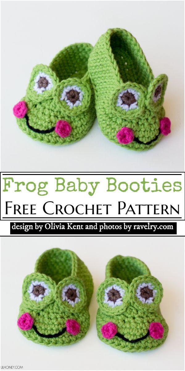 Cute baby Booties Pattern