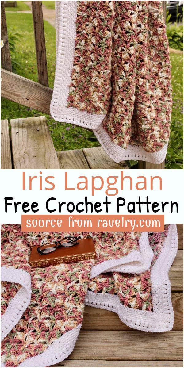 Iris Lapghan Crochet Pattern