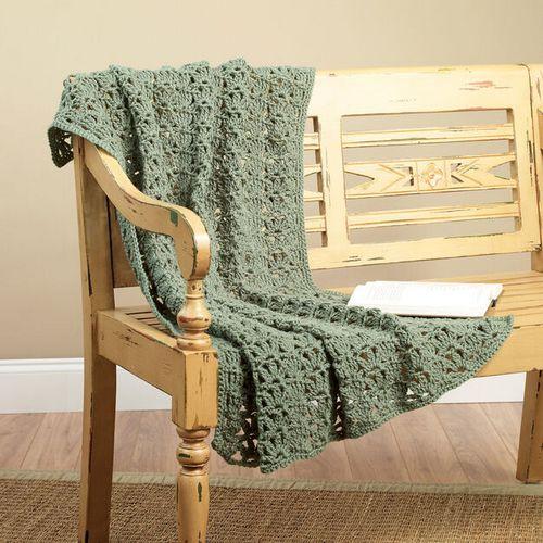 Lacy Lap Throw Crochet Pattern