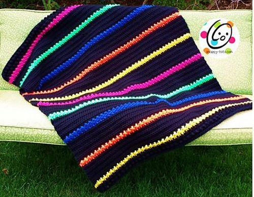 Marni's Lap Afghan Crochet Pattern