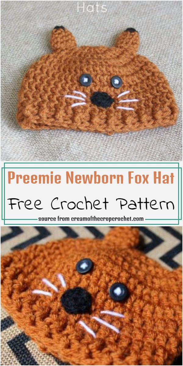 Preemie Newborn Hat Pattern
